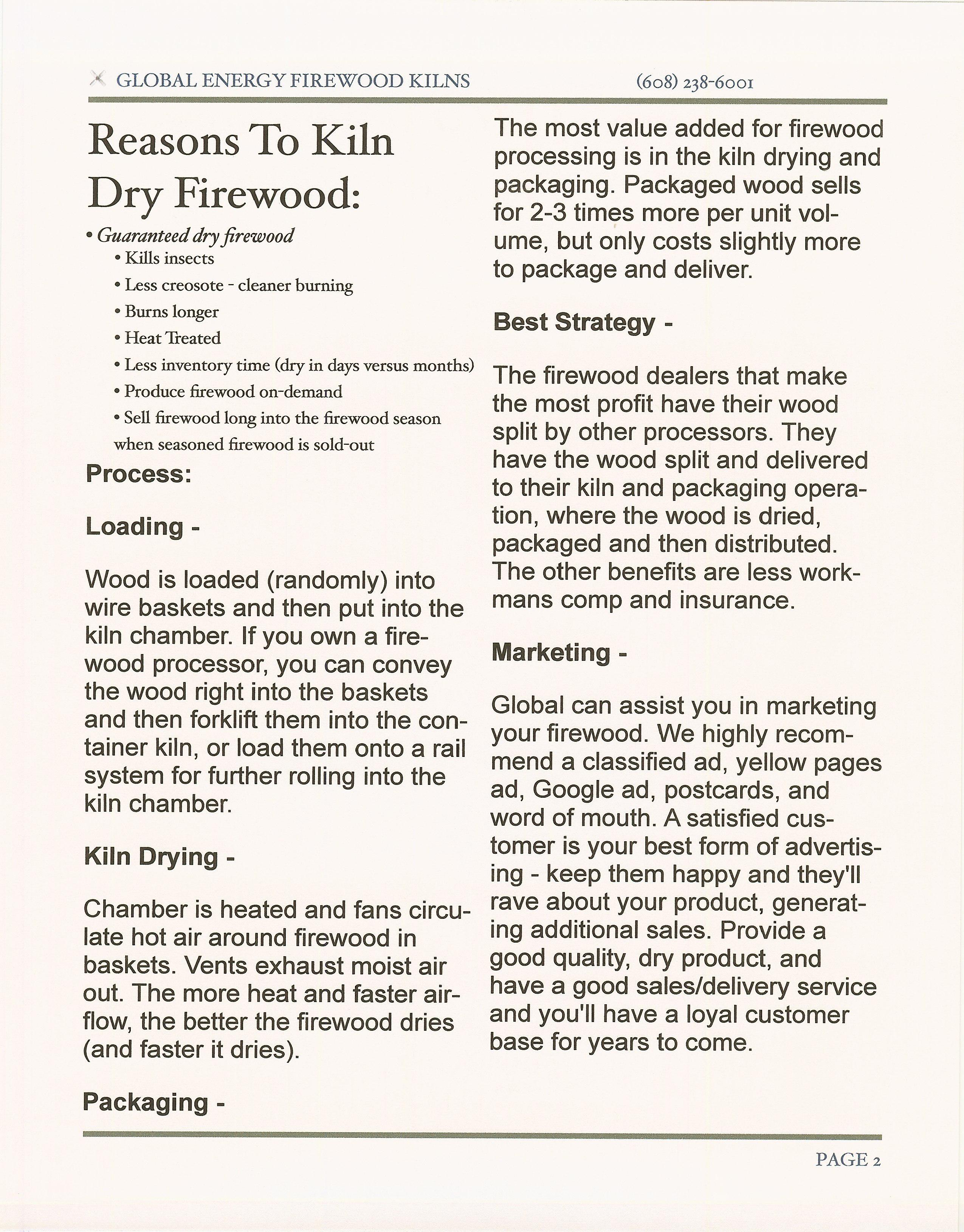 Reasons to use a Firewood Container Dry Kiln